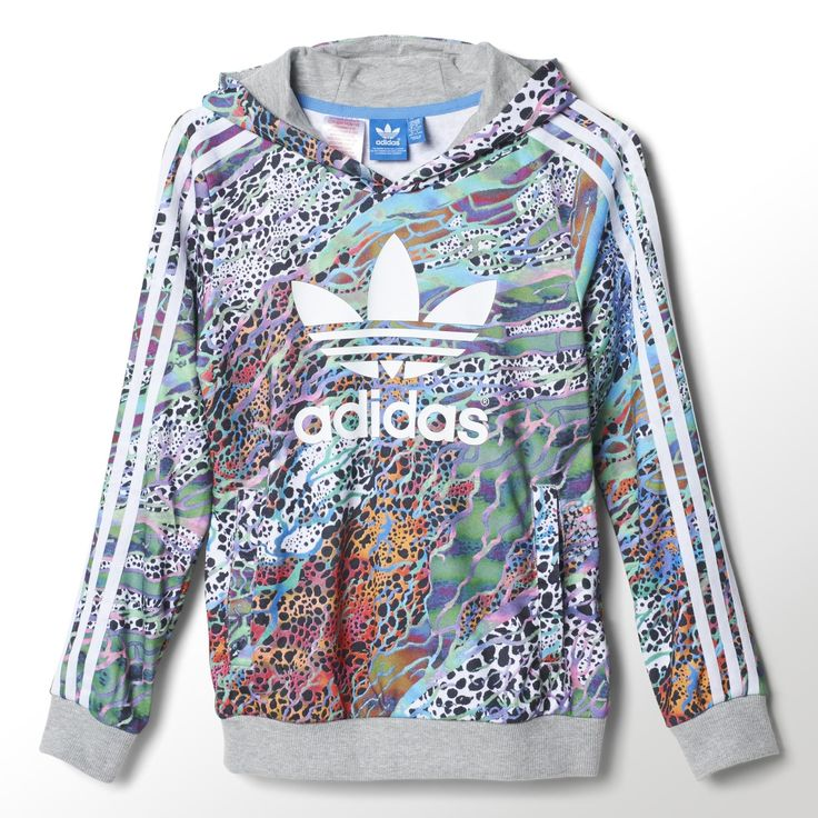 adidas originals girls' floral crop top junior nz