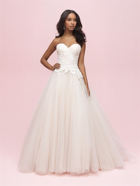 daa927bf420 Allure Romance 3206 Champagne Ivory Size 12