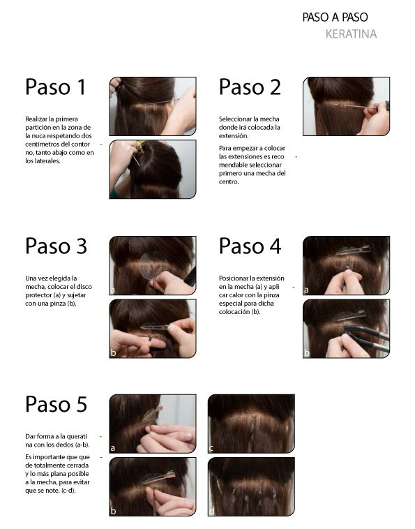Paso a paso aplicación extensiones keratina Virgin Luxury Collection - #Sorteo