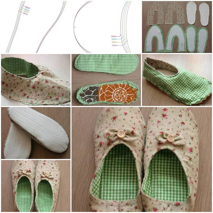 468 best zapatitos images on pinterest baby sewing baby shoes how to make womens house slippers diy tutorial instructions how to how to do solutioingenieria Gallery