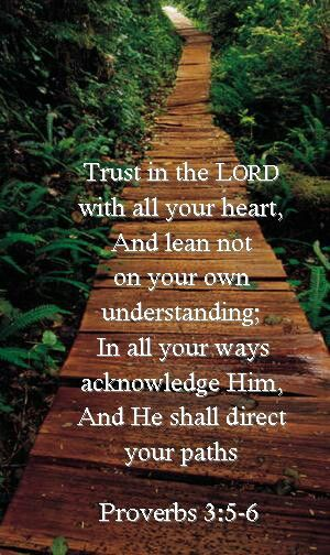 TRUST IN THE LORD!!!!!