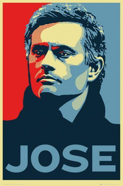 Chelsea Londyn Jose Mourinho - plakat - 61x91,5 cm  Gdzie kupić? www.eplakaty.pl
