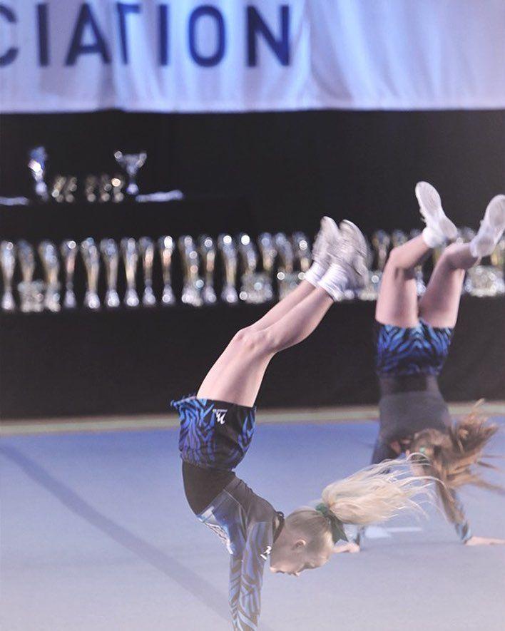 Action Shot  #UKCA #Cheerleading #UKCheer #CheerLife