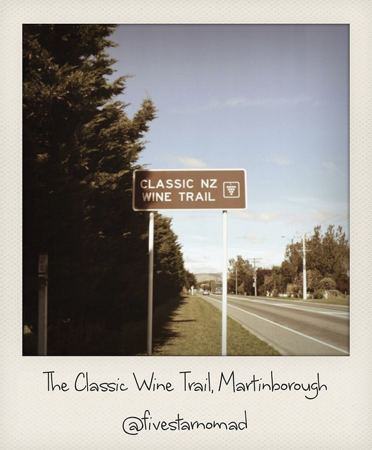 The Classic Wine Trail, Martinborough by fivestarnomad, via Flickr