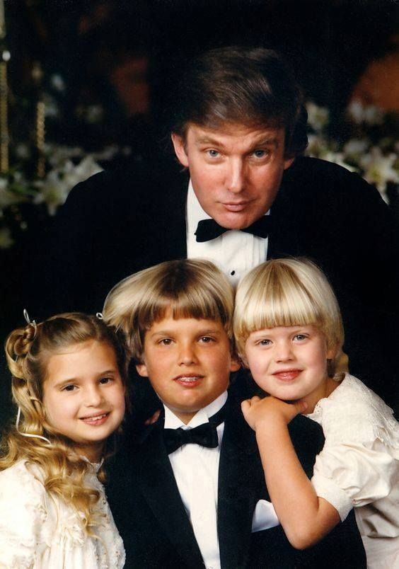 Donald Trump and his kids...