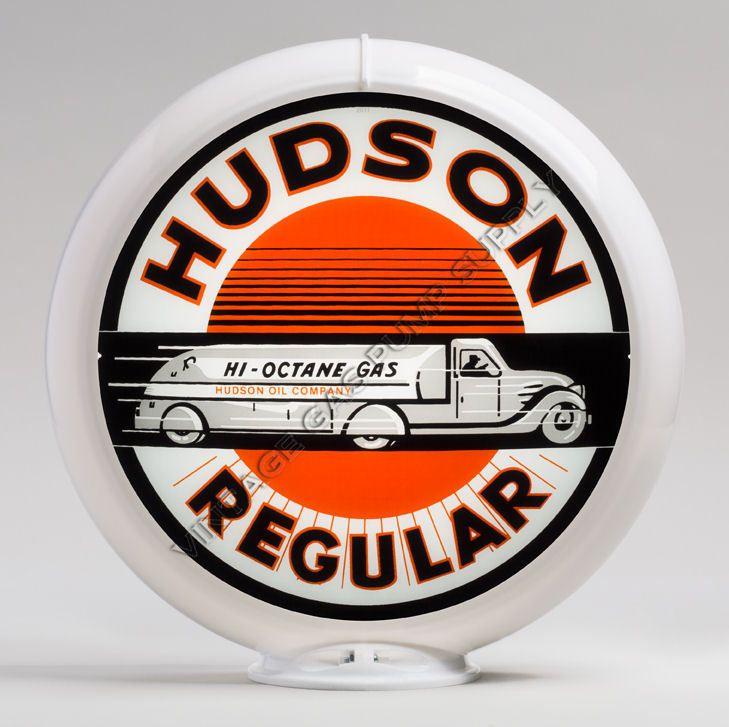 """Hudson 13.5"""" Gas Pump Globe (G140)"""