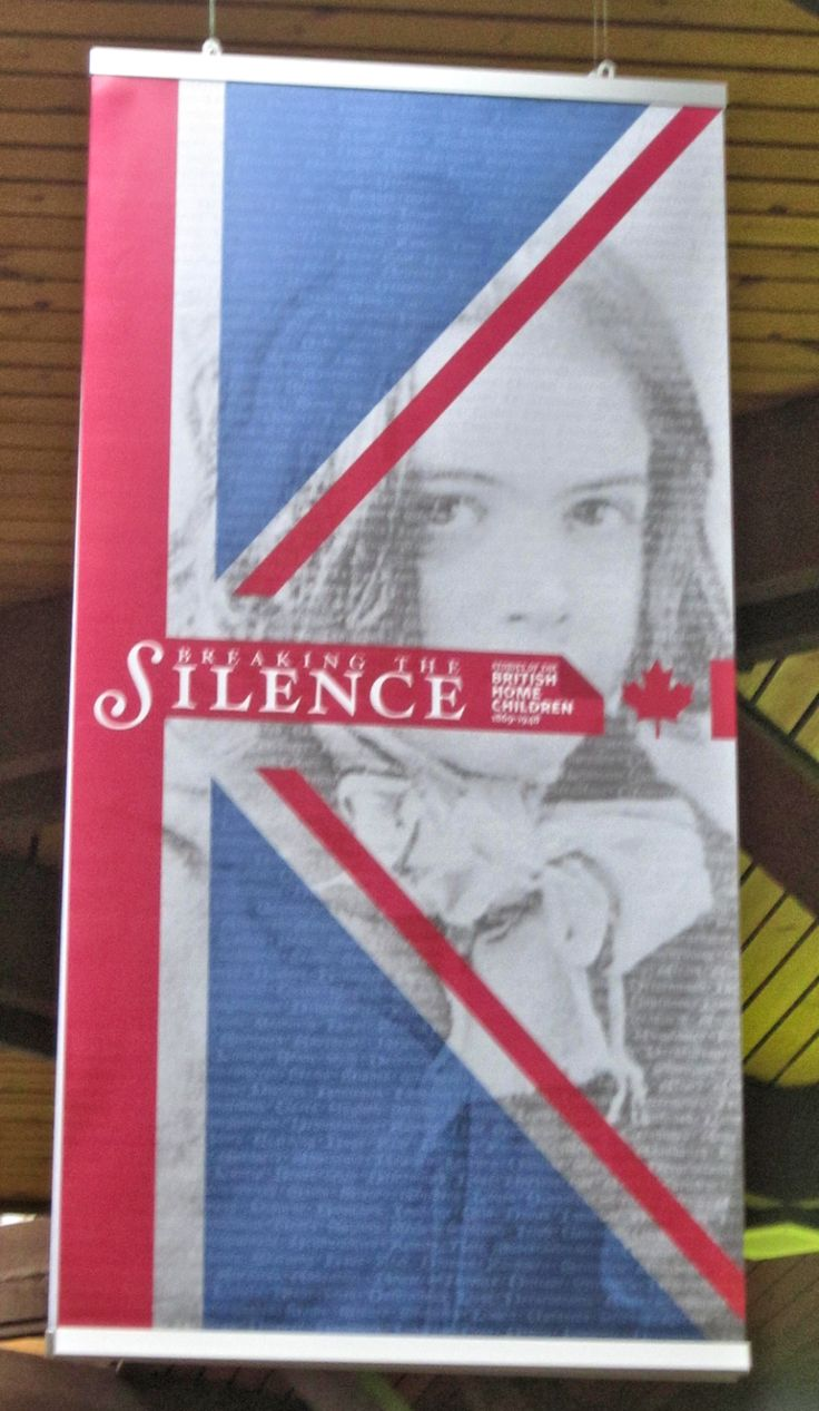 Breaking the silence british home children in canada running from july 28 2014