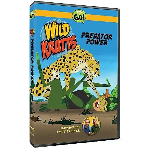 Wild Kratts Predator Power DVD from PBS Kids Shop