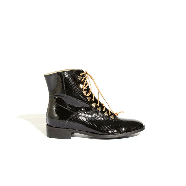 Penny Dreamcore Black Patent - New Kid Shoes