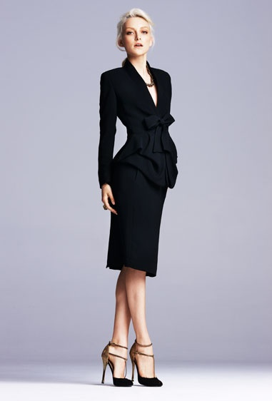 corporate fashion office fashion black office black suits work chic ...