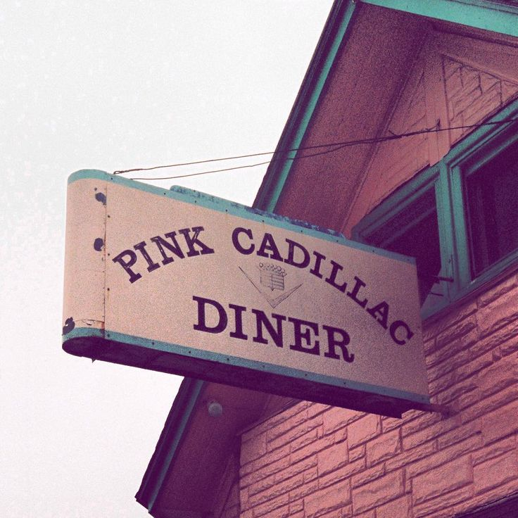 Another day another diner #pinkcadillac #diner #roadtrip #vintage