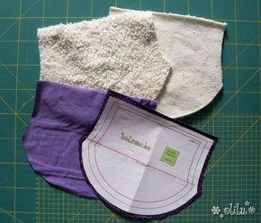 kinder halssocke // children scarf // tutorial and pattern // Schnittmuster und Anleitung