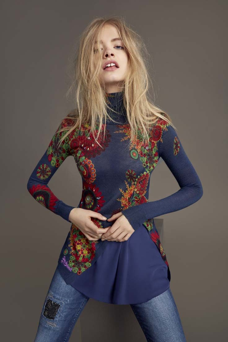 Boho details and slouched polo-necks: that's how Fall fashon is done!