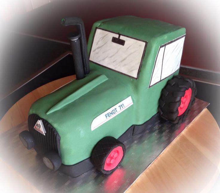 Traktor Torte  Fendt-Traktor Torte Tractor Cake