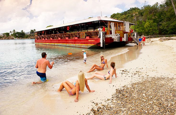 3. Sail Away - With departures from the Crown Bay Center, enjoy a picturesque sail through Charlotte Amalie harbour, rum punch in hand, on the glass-bottom KON TIKI boat. Catch a glimpse of the colourful coral reef and its aquatic inhabitants below, before heading to Water Island for an hour of swimming and relaxing.  www.cruiseshipexcursions.com