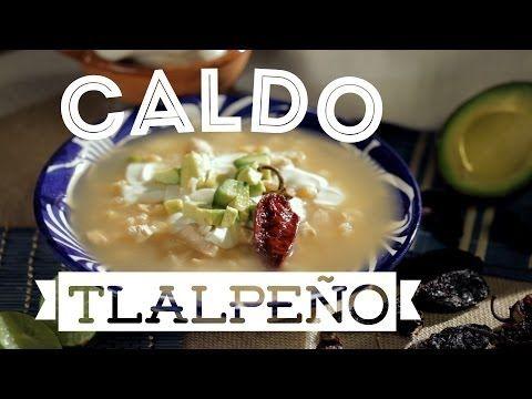 ¿Cómo preparar Caldo Tlalpeño? - Cocina Fresca - YouTube