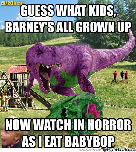 haha so we meet again baby dinosaur