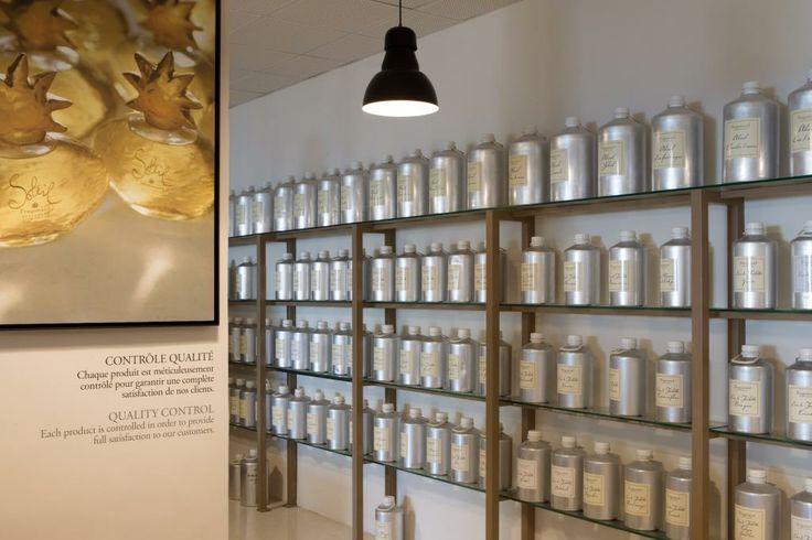 Contrôle qualité, Quality control -  Fragonard PARFUMEUR #savoir-faire #Know-how #parfum #perfume #Grasse