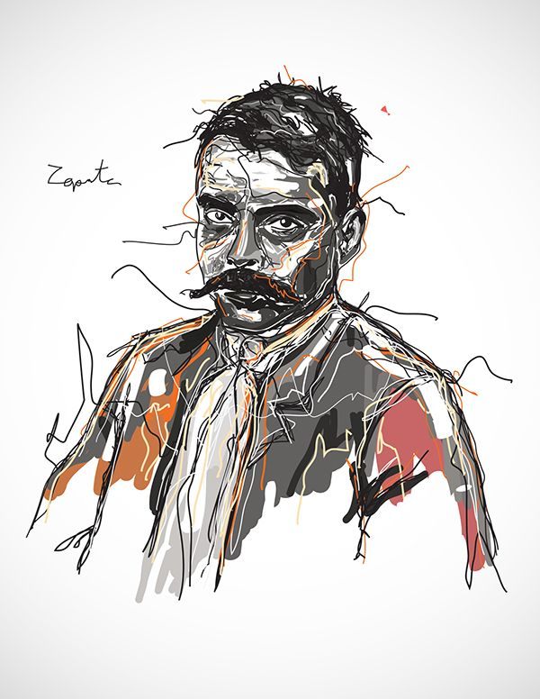 Zapata on Behance