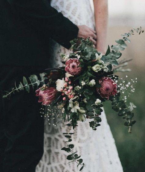 18 fantastiskt vackra bröllopsbuketter