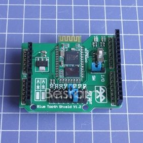 Stackable Bluetooth Shield for Arduino Freaduino Support Master Slave Role Mode
