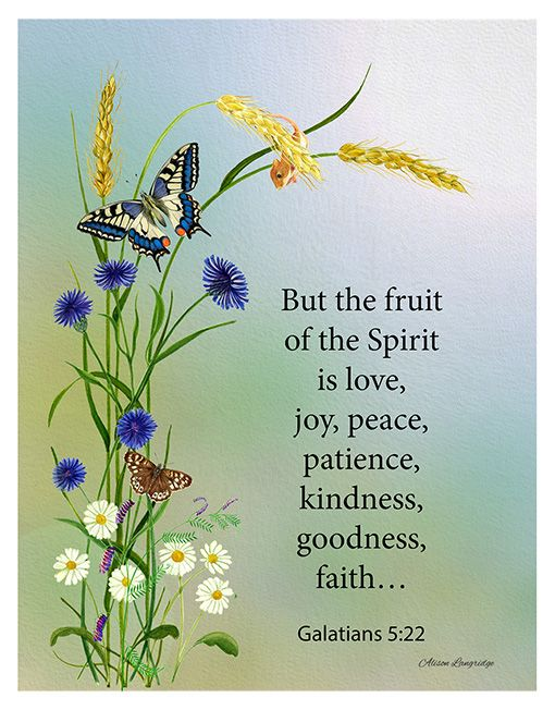 335 best holy spirit images on pinterest holy ghost holy a bible verse on the holy spirit a watercolor artwork of wild flowers and butterflies but the fruit of the spirit is love joy peace galatians negle Gallery