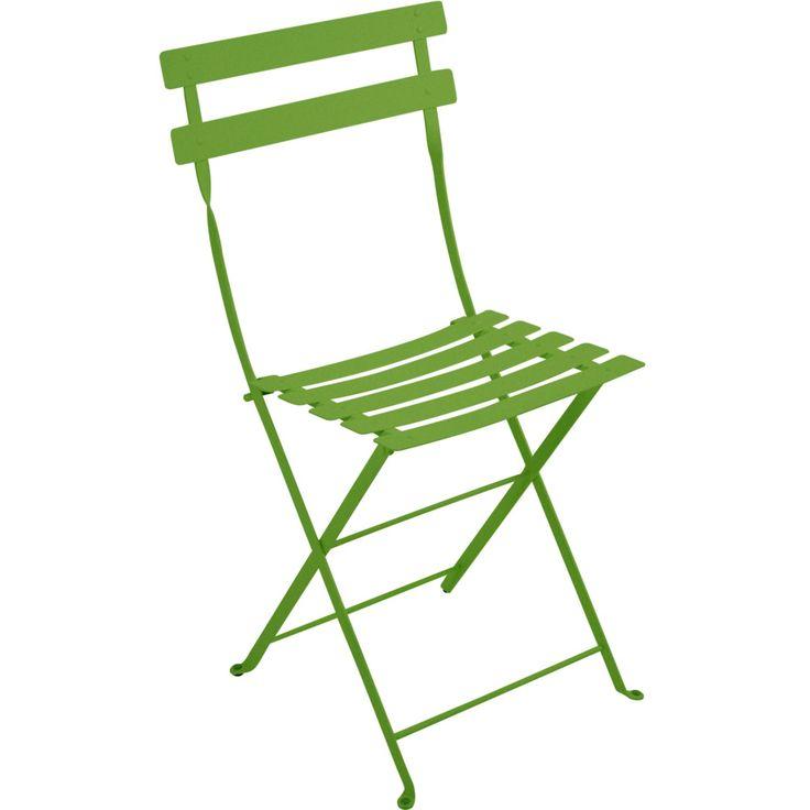 Bistro Metal stol, grass green i gruppen Utemöbler / Utemöbler / Balkong hos RUM21.se (102372)