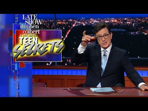 The Late Show's Teen Secrets: Snortable Chocolate Edition | Legal Lean CEO Nick Anderson has the goods and he's found his niche clientele: middle schoolers.