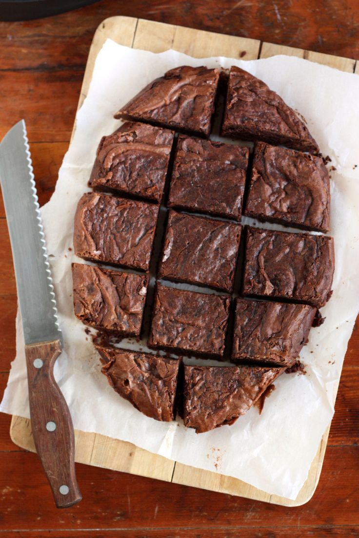 Center Stage: Slow Cooker Chocolate Fudge Brownies from Completely Delicious on Everyday Good Thinking, the official blog of @Jessica Rybarczyk Beach