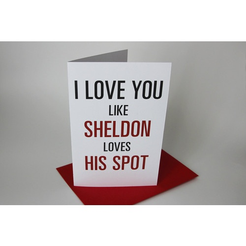Geek Valentine's card