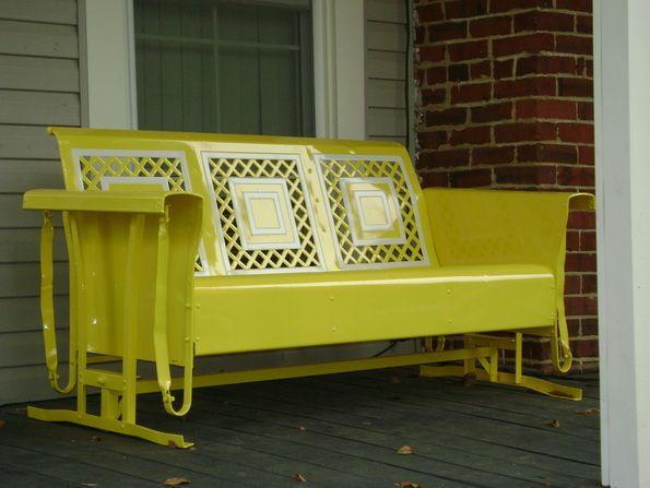 Best 25 Porch Glider Ideas Only On Pinterest Outdoor
