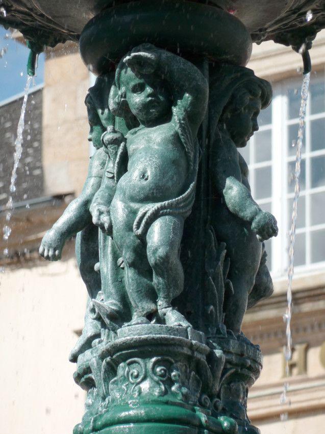 Fontaine à Saint-Pourçain-sur-Sioule. Auvergne