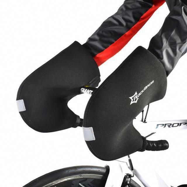 Rockbros Warm Winter Cycling Gloves Windproof Waterproof Mountain Mtb Bike Bicycle Handlebar Gloves Coolbikeaccessories Roadbikeaccess 自転車のハンドル サイクルウェア 手袋 メンズ