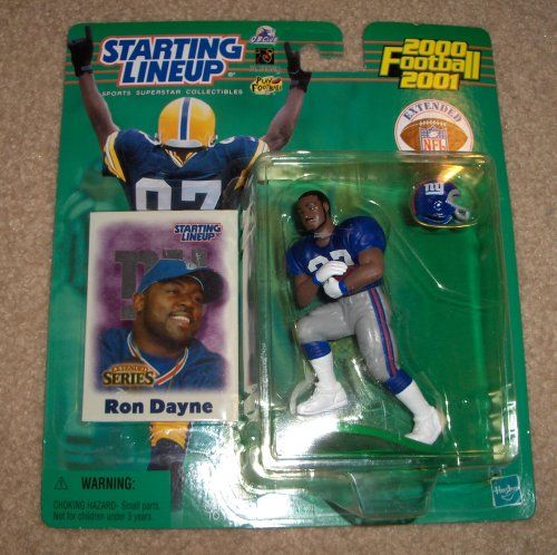 2000 Ron Dayne NFL Starting Lineup Extended Series Figure *** More info could be found at the image url.Note:It is affiliate link to Amazon.