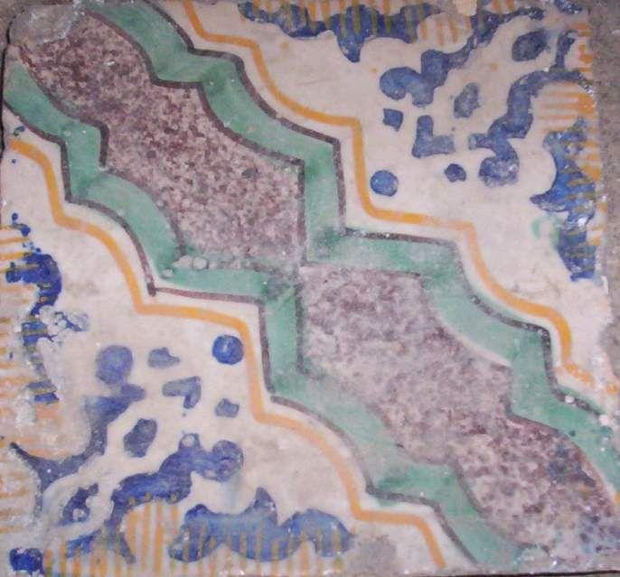 Piastrelle in maiolica antichissime 4