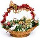 Gift basket with dry fruits like cashew, walnuts, almond, dry grapes, salted pistachio. available for Hyderabad delivery. Pick fresh and variety of gifts from best local florist in Hyderabad. Visit our site : www.flowersgiftshyderabad.com/GiftBaskets-to-Hyderabad.php