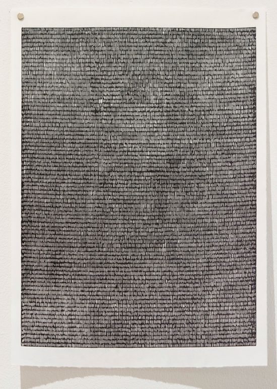 Bonolo Kavula, 'Untitled I' (2015), Linocut on Sumi-e paper, 45.5 x 32cm