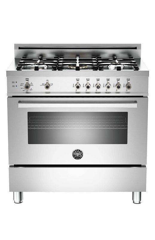 Cuisinière au gaz Bertazzoni - PRO365GASXVFRLP   #BraultetMartineau #Cuisinière #Range #Cuisine #Kitchen #Inox #Luxury