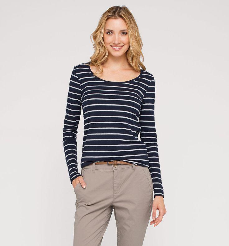 Sklep internetowy C&A   Koszulka, kolor:  niebieski / biały   Dobra jakość w niskiej cenie
