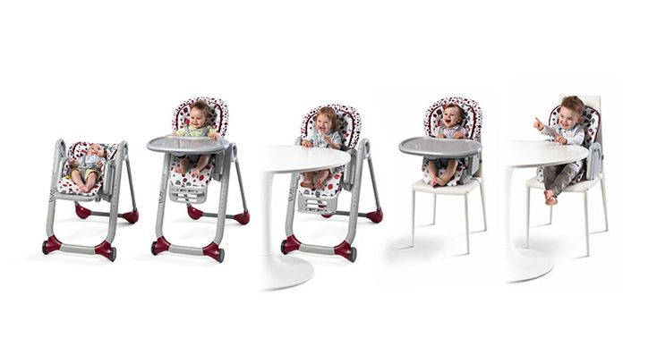 Chaise Haute Polly Progres5  | Repas | Site officiel Chicco.fr
