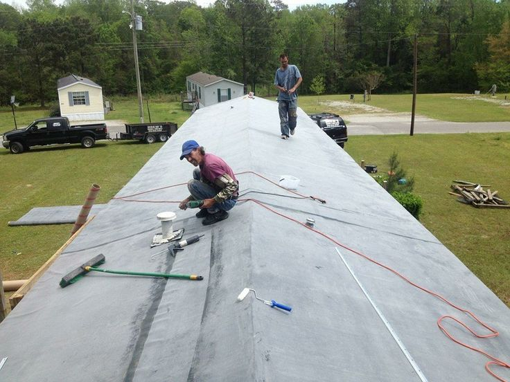 Find This Pin And More On Mobile Home Rubber Roofing Southport NC By  Drewsroofing.