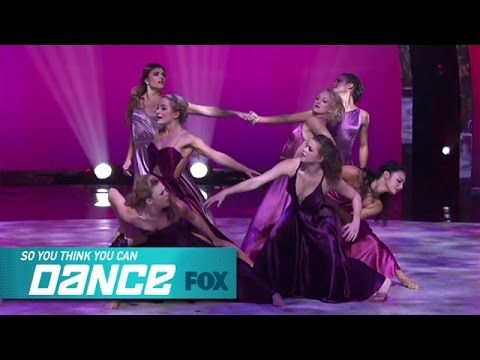 Mini-Group 2: Top 7 Girls | SO YOU THINK YOU CAN DANCE | FOX BROADCASTING