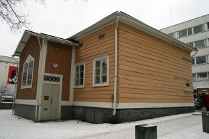 The childhood home in Hämeenlinna has turned into a part of the Sibelius museum. #Sibelius #Museum #Hämeenlinna