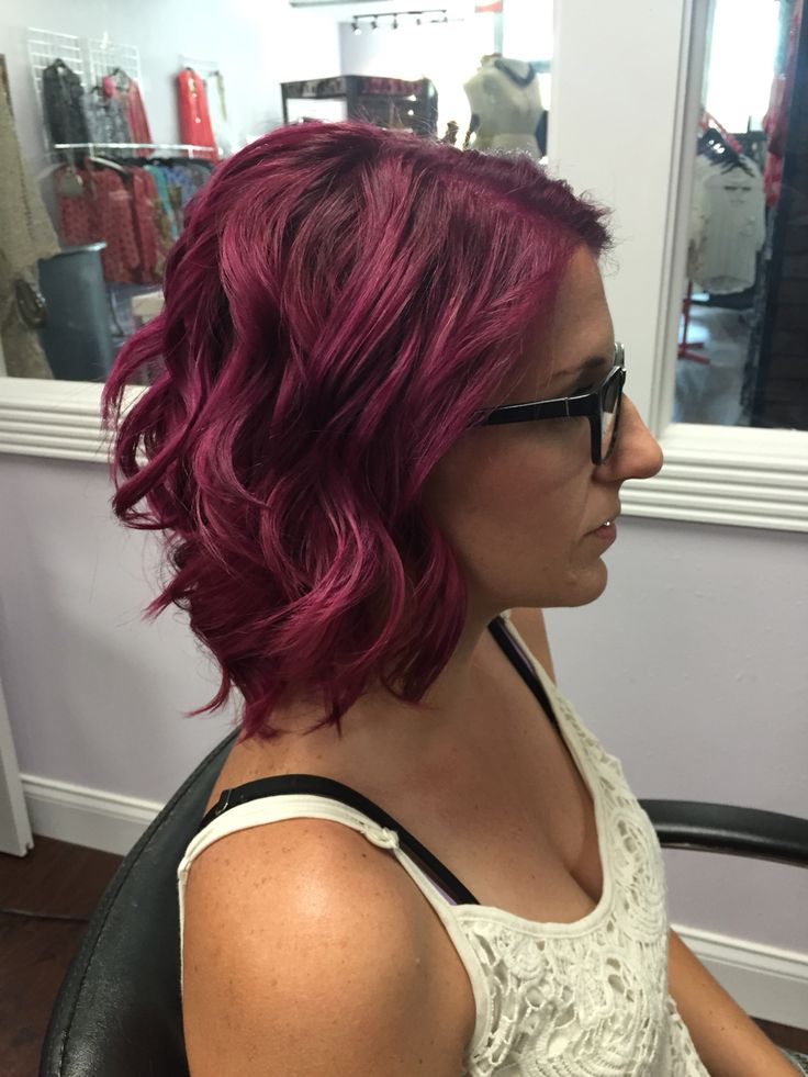 Mermaid Hair Pink Hair Magenta Hair Kenra Color Kenra