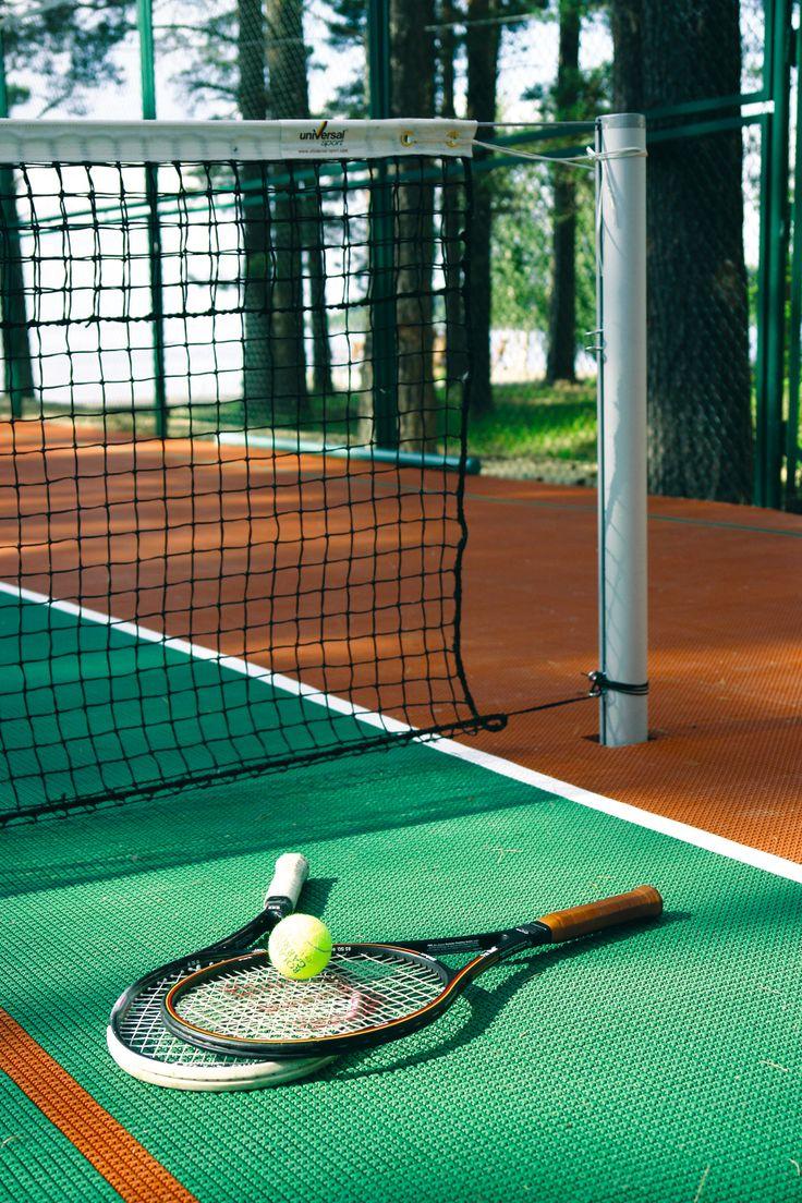 Tennis court.. www.minospalace.com/en/Stay-267.htm