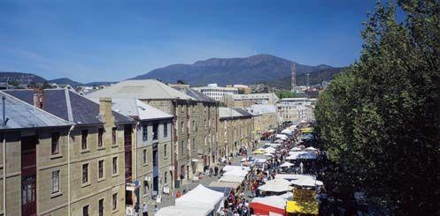Salamanca Markets, Hobart, Tasmania