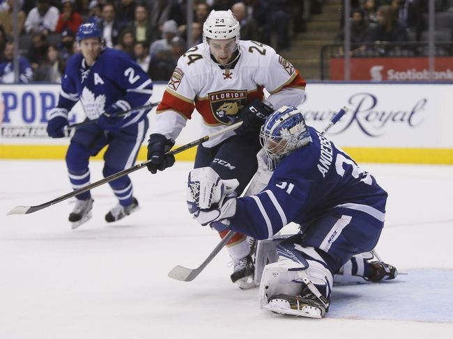 Florida Panthers vs. Toronto Maple Leafs - 12/28/16 NHL Pick, Odds, and Prediction