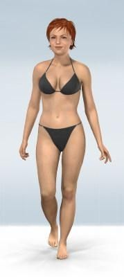 Great motivational tool!  Create your virtual model and see how you will look at your goal weight.