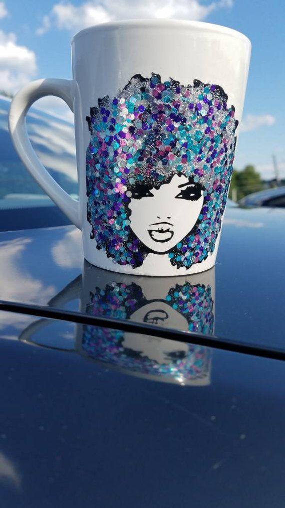 Fromugs Coffee Mugs Art Mugs Afro Art Natural Hair Mug Coffee Gifts Mugart Fromugs Coffee Mugs Art Mugs Afro Art Natural Mug Art Afro Art Diy Mug Designs