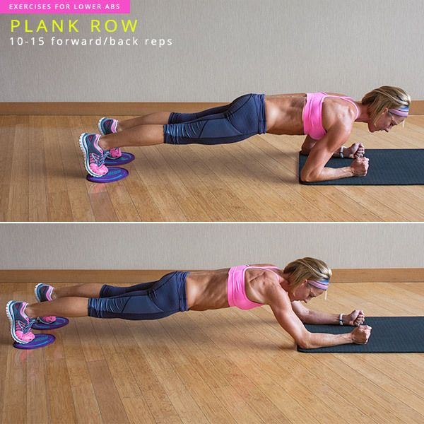 8 Killer Lower Ab Workouts The mind muscle connection is vital. This is a crazy plank based eliminate punch belly workout. Pretty amazing!